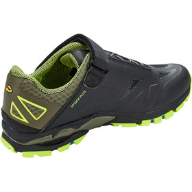 Northwave Spider Plus 2 Shoes Men black/yellow fluo